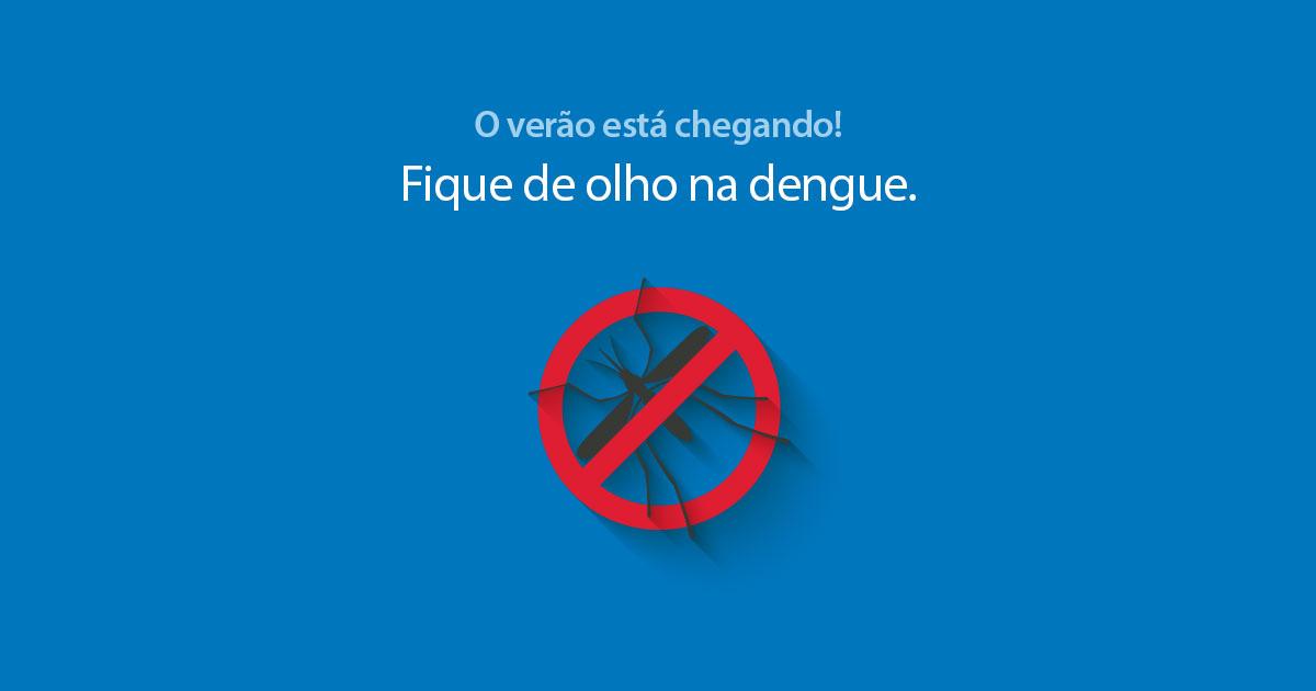 Dengue no verão