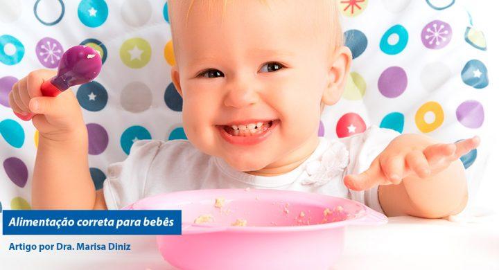 alimentação correta para bebês