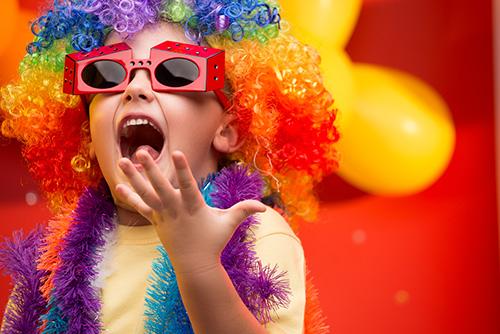 crianças carnaval