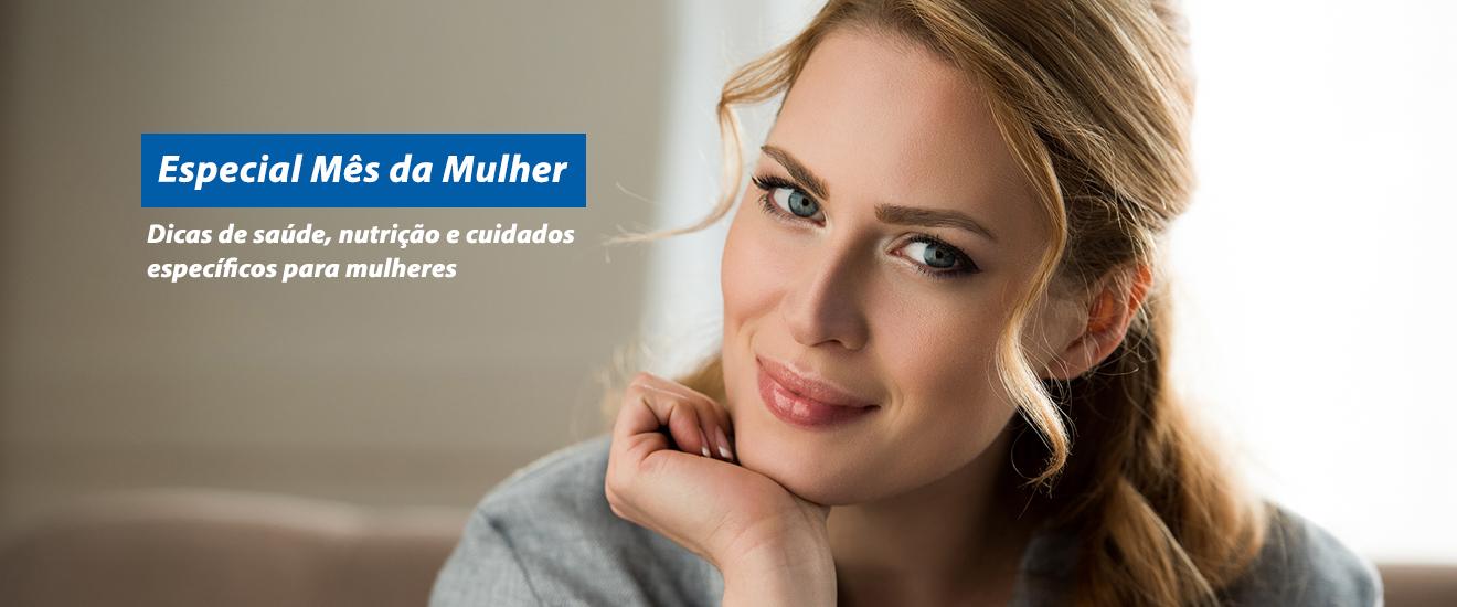 Banner mês da mulher