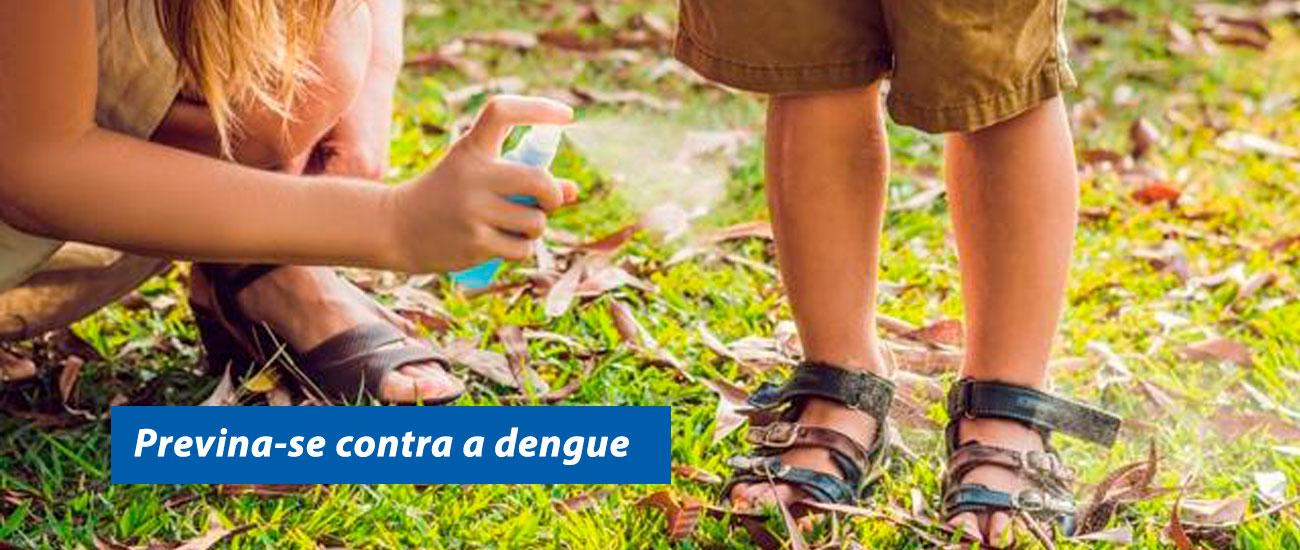 previna-se contra a dengue