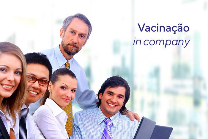 Vacinação in company