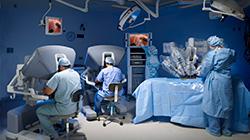Centro de cirurgia robótica