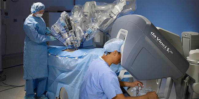 cirurgia robótica Leforte - da vinci