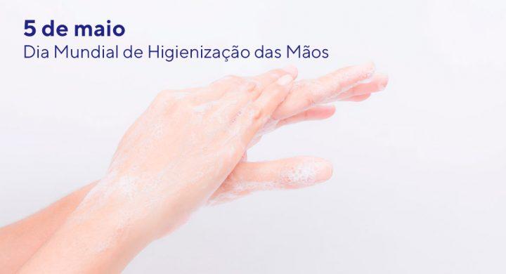 Higienizar as mãos é cuidado fundamental para manter a saúde