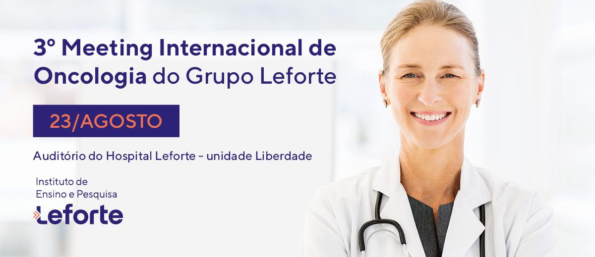 3 Meeting Internacional Oncologia