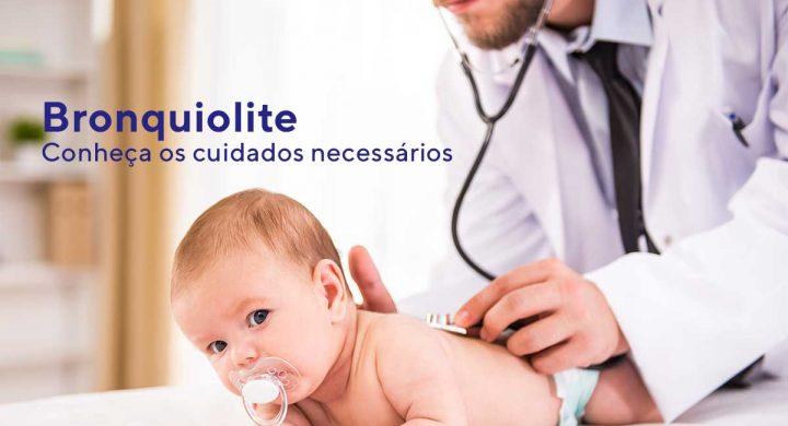 Bronquiolite: Conheça os cuidados necessários