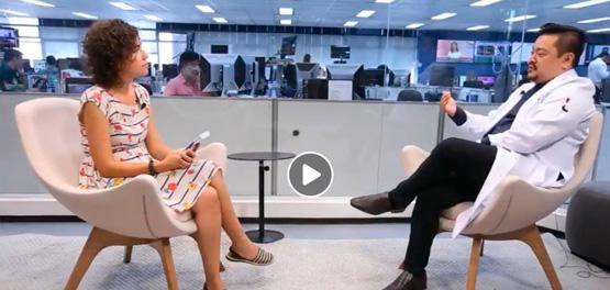 Ricardo Sato, coordenador do serviço de psicologia do Hospital Leforte Morumbi, falou ao vivo com a jornalista Paula Felix, na TV Estadão, sobre bullying e redes sociais.