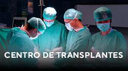Centro de transplantes