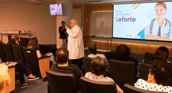 Leforte Saúde nas Empresas faz ação para colaboradores do Banco do Brasil