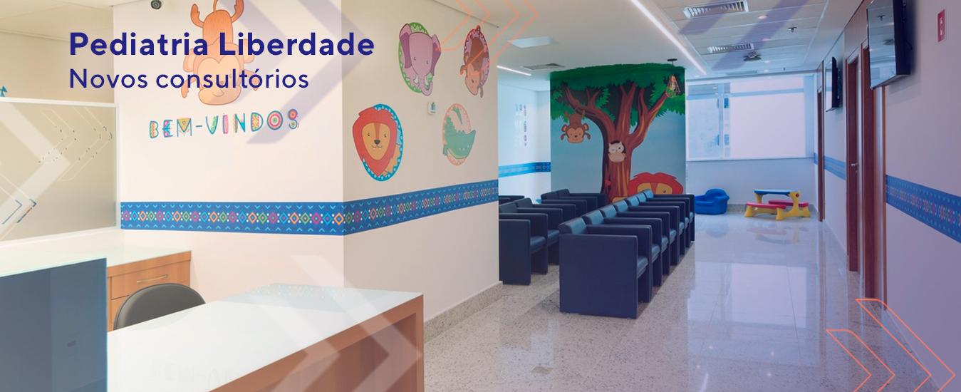 Pediatria Leforte Liberdade Andar exclusivo, novos consultórios