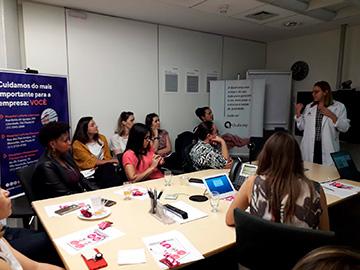 Leforte Saúde nas Empresas debate saúde da mulher na Promon Engenharia