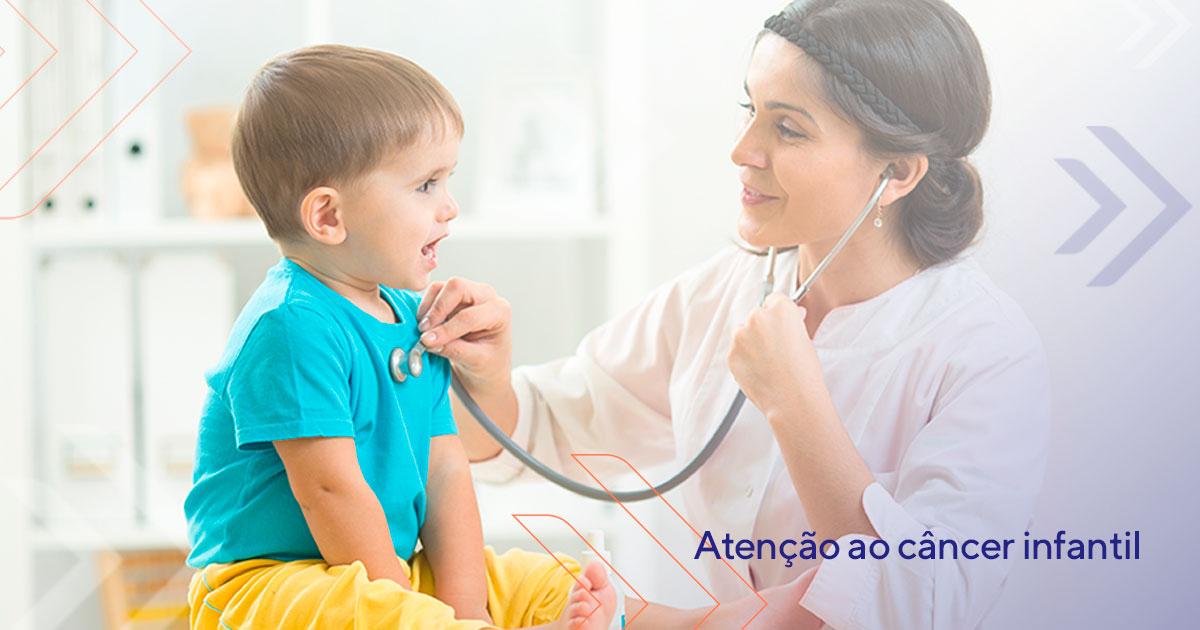 Atenção ao câncer infantil