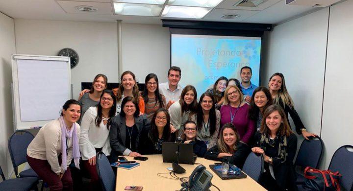 Leforte Saúde nas Empresas faz palestra para grupo de voluntários