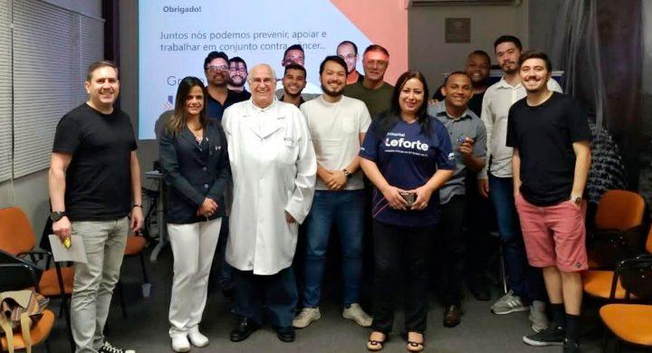 Leforte Saúde nas Empresas visita colaboradores da Mob Token