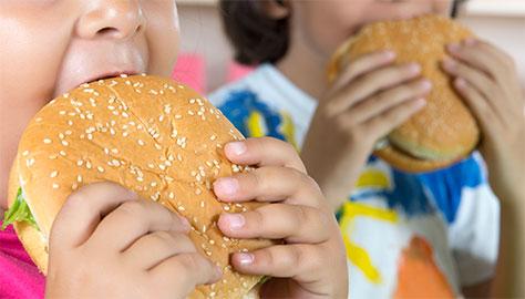 Obesidade atinge cada vez mais crianças