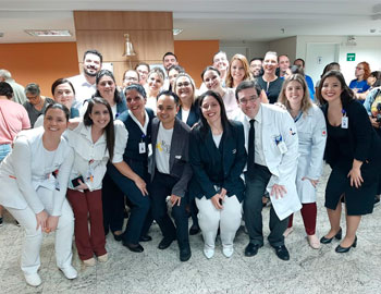 Oncologia Leforte inicia projeto Ring the Bell