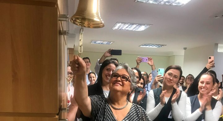 Leforte se une ao movimento Ring the Bell