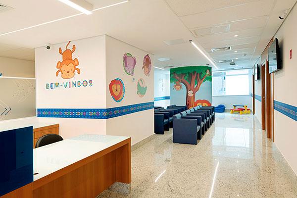 Tratamento especial para as crianças nas unidades do Grupo Leforte.