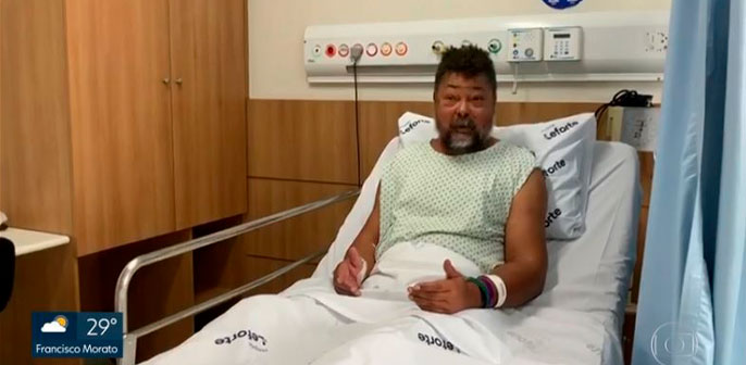 Leforte Liberdade mobiliza polícia para buscar paciente que passaria por transplante de rim- Veja matéria na GloboPlay
