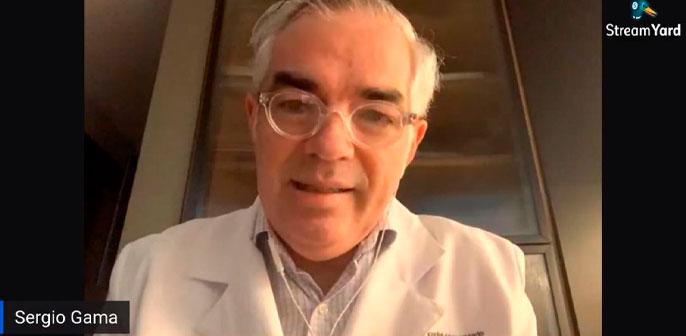 Em live do Diário do Grande ABC, Dr Sergio Gama fala sobre os riscos de não ir ao médico mesmo durante a quarentena