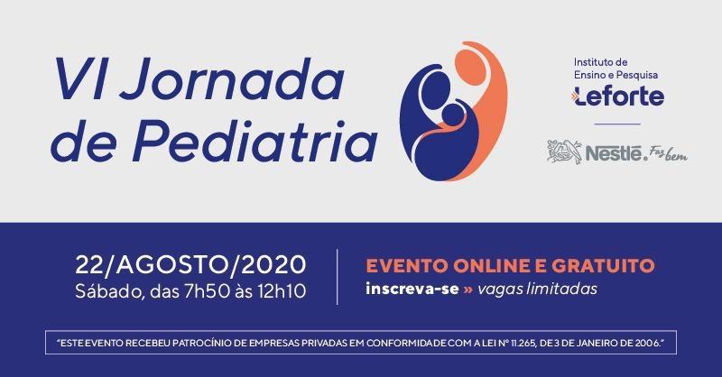 Hospital Leforte Liberdade abre inscrições para Jornada de Pediatria
